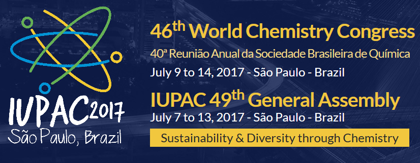 World chemistry congress 2017 the 46th world chemistry congress of the international union of pure and applied chemistry iupac 2017 will be held in so paulo on july 9 14 2017 urtaz Gallery