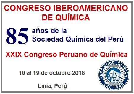 Congreso Iberoamericano de Química en Lima